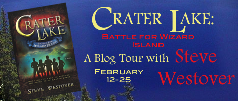 Crater Lake: Battle for Wizard Island, Author Steve Westover, Fantasy, juvenile