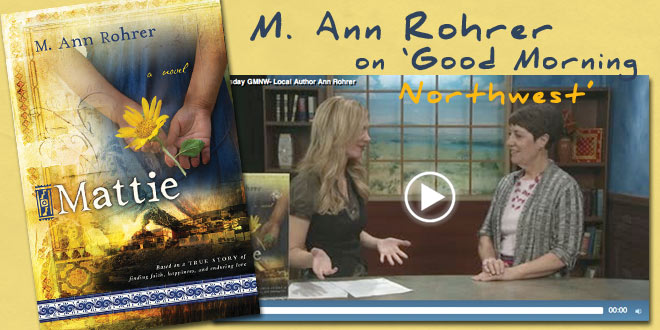 Mattie-author-M-Ann-Rohrer-appears-on-Good-Morning-Northwest