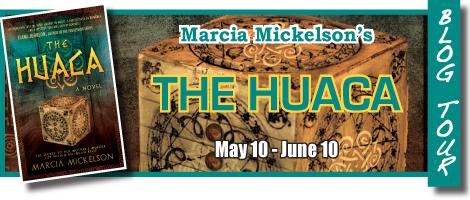 The Huaca blog tour banner