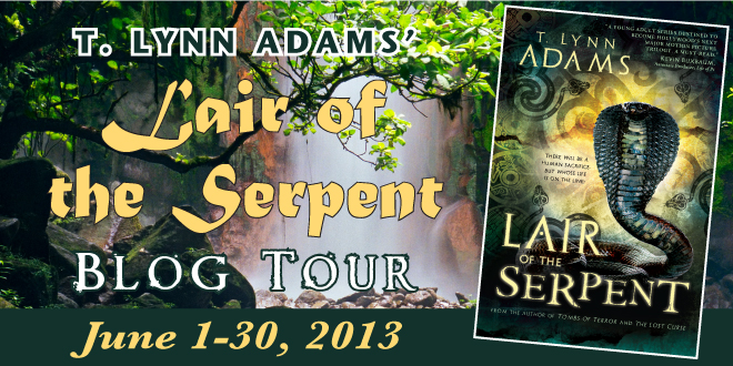 Lair of the Serpent blog tour