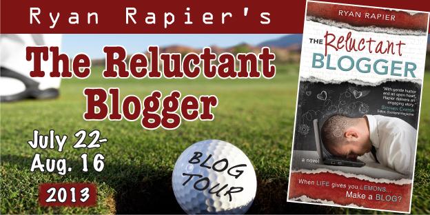 Reluctant Blogger blog tour