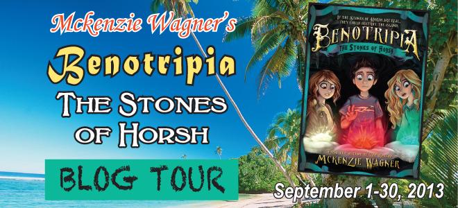 Stones of Horsh blog tour banner