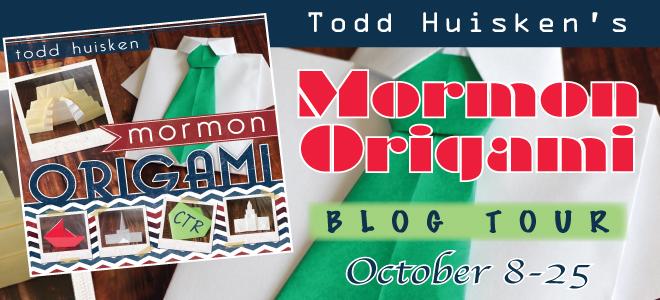 Mormon Origami blog tour