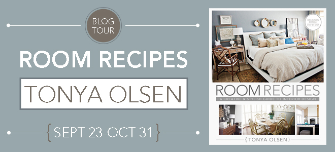room recipes blog header