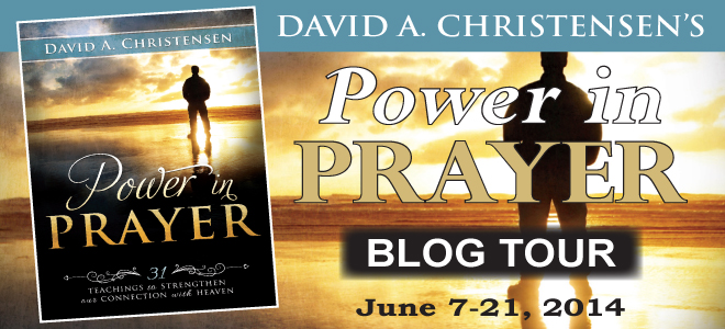 Power in Prayer blog tour