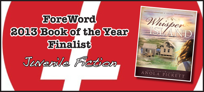 Anola Pickett's 'Whisper Island' named finalist for ForeWord Reviews award
