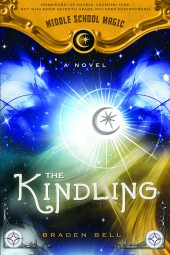 'The Kindling' is Book 1 in the Middle School Magic series.