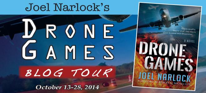 Drone Games blog tour