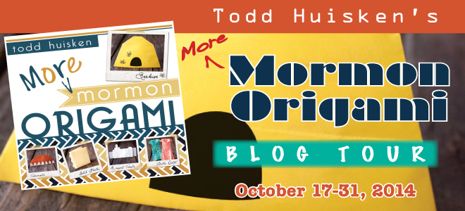 More Mormon Origami blog tour
