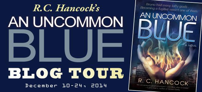 An Uncommon Blue blog tour