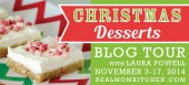 Blog tour: 'Christmas Desserts: Sweets of the Season'