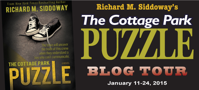Cottage Park Puzzle blog tour