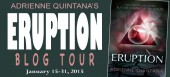 Blog tour: 'Eruption'