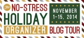 Blog tour: 'The No-Stress Holiday Organizer'