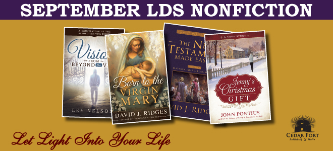 September LDS nonfiction releases include near death experiences, an updated scripture study aid, and a pair of Christmas titles