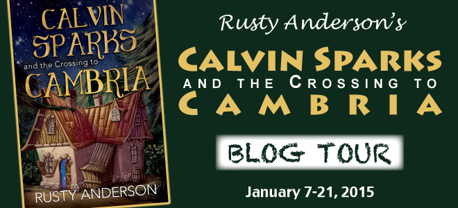Calvin Sparks blog tour