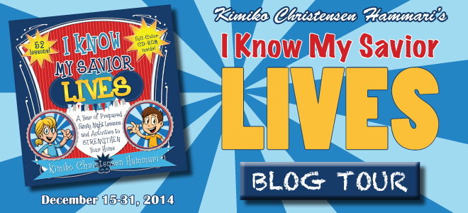I Know My Savior Lives blog tour