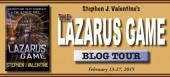 Blog tour: 'The Lazarus Game'