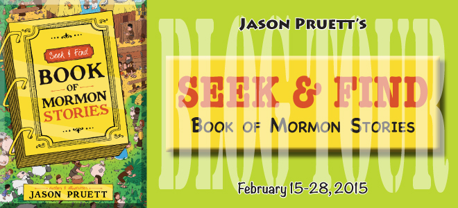 Seek and Find blog tour