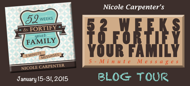 52 Weeks to Fortify blog tour