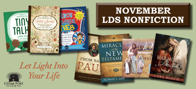 November LDS nonfiction: 2015 Church curriculum theme is the name of the game