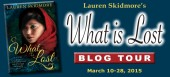 Blog tour: 'What is Lost'