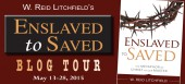 Blog tour: 'Enslaved to Saved'