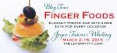 Blog tour: 'Finger Foods'