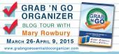 Blog tour: 'Grab 'N Go Organizer'