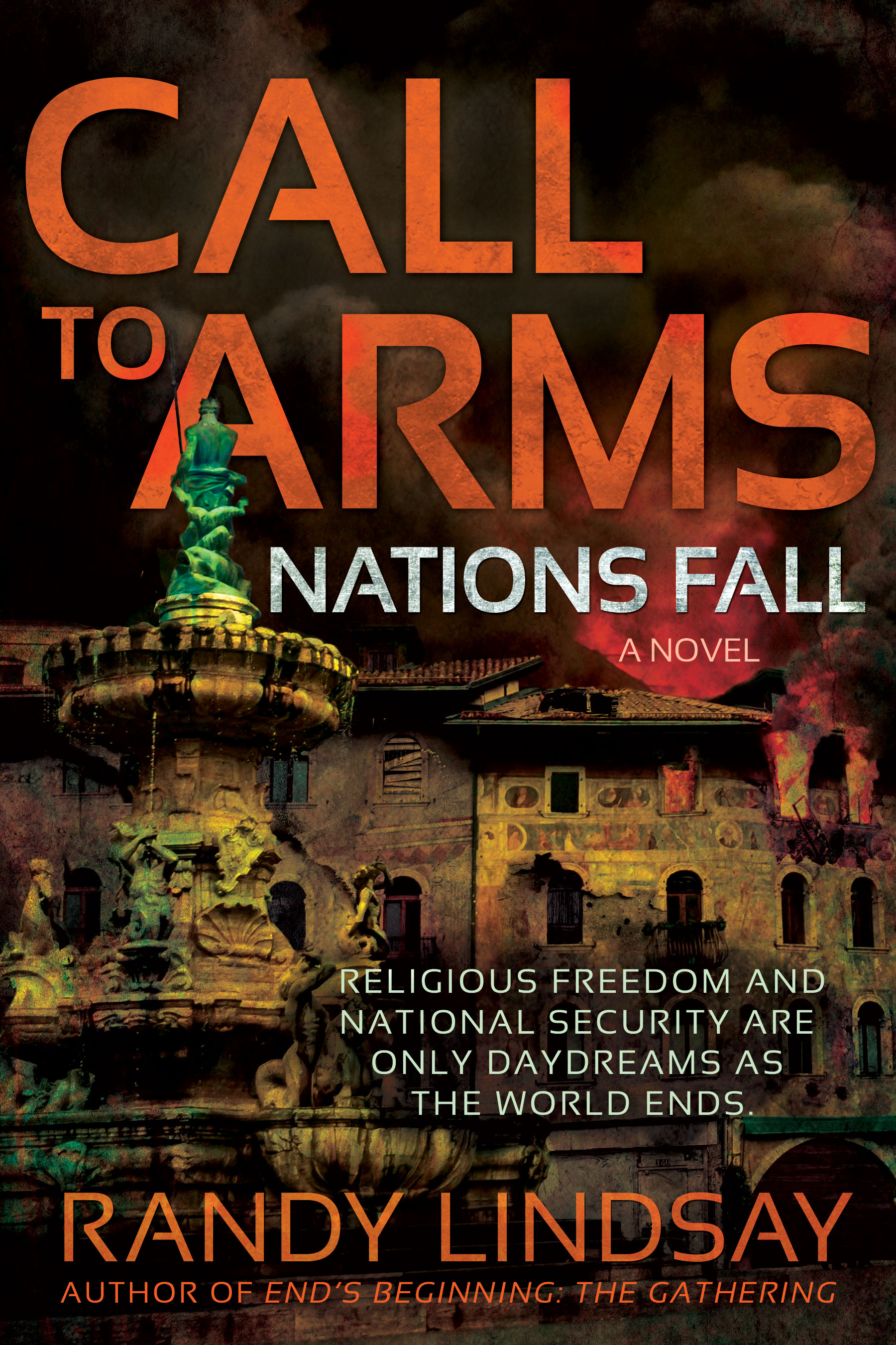 Blog tour: 'Call to Arms: Nations Fall'