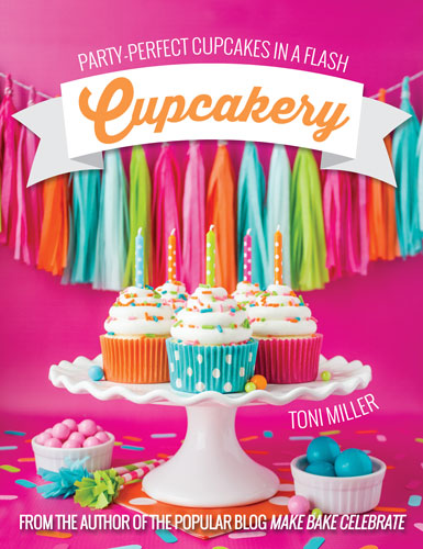Blog Tour: 'Cupcakery: Party-Perfect Cupcakes in a Flash'