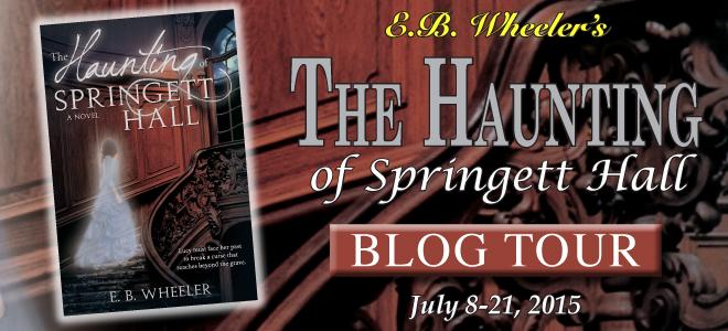 Haunting of Springett Hall blog tour