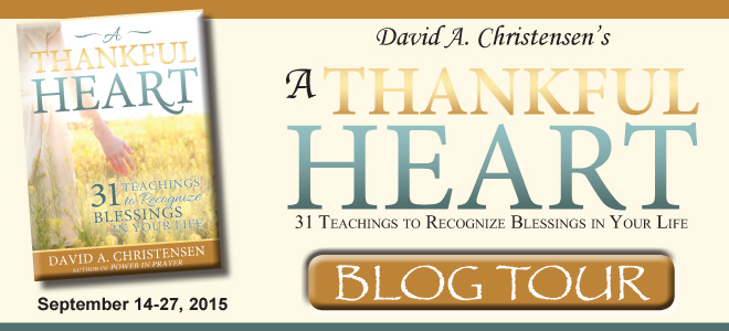 A Thankful Heart blog tour