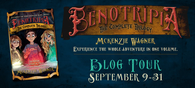 Blog tour: 'Benotripia: The Complete Trilogy'